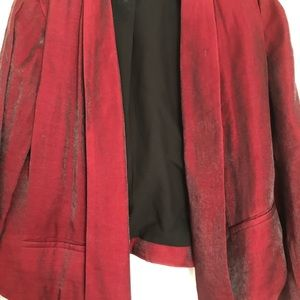 Chico's short silky jacket, size 1, fits to 10-12